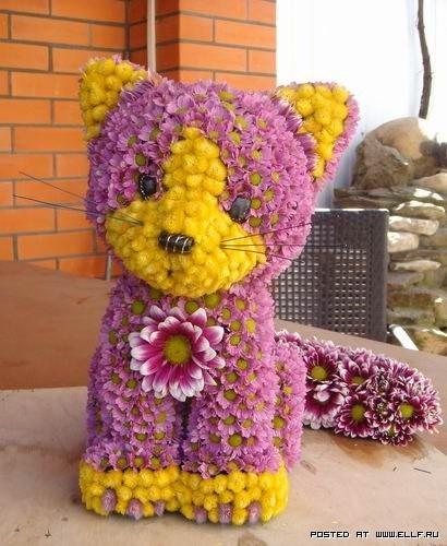 Животни от цветя