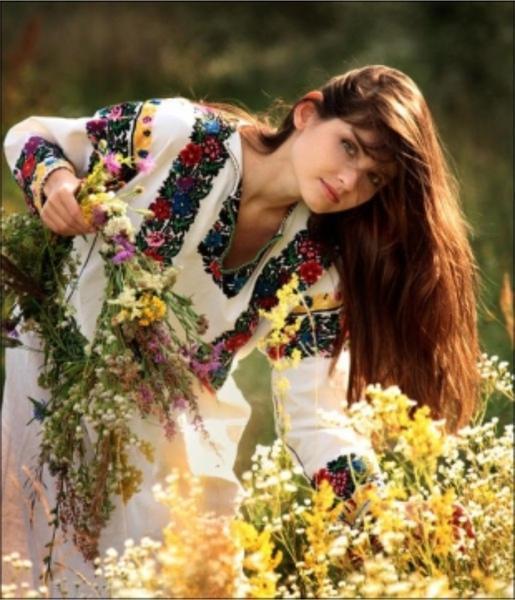Момичета и цветя