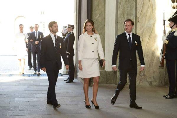 шведската принцеса Мадлен